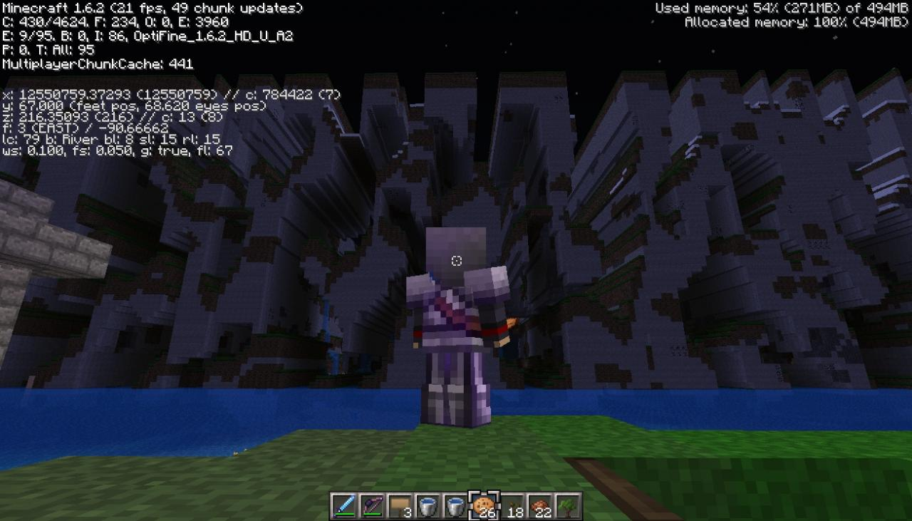 Far Lands In 1 6! Minecraft Project