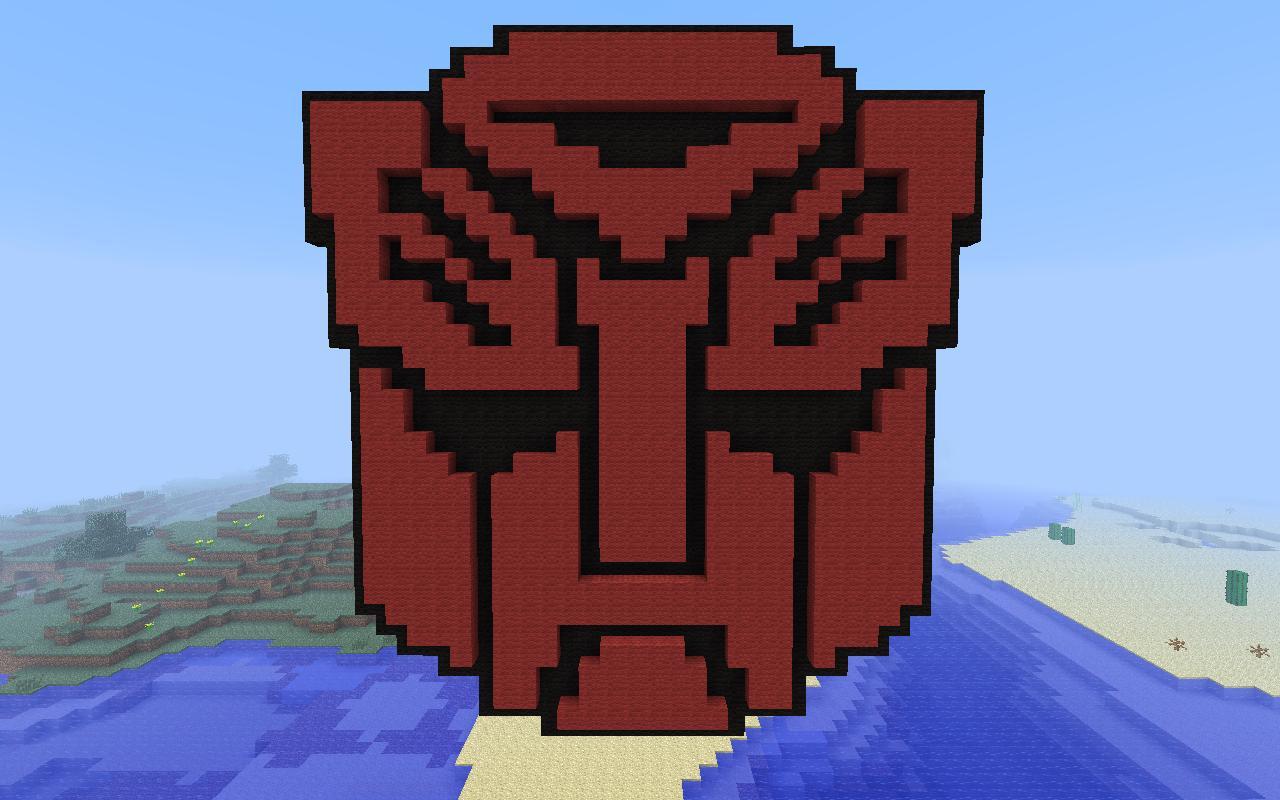 Transformers Autobot Minecraft Project