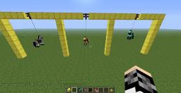 How to make a minecraft swing! Minecraft