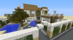Epic Modern House Minecraft Map & Project