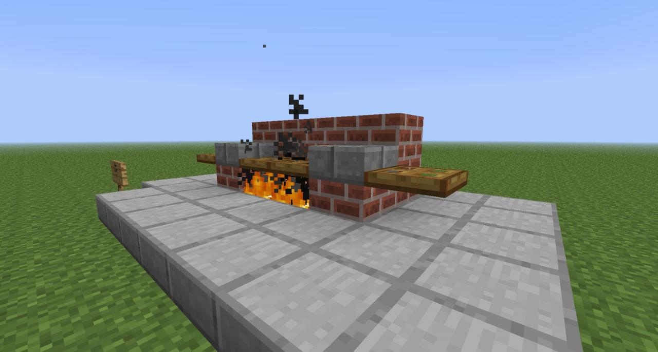 Bbq Designs on Minecraft Wall Designs
