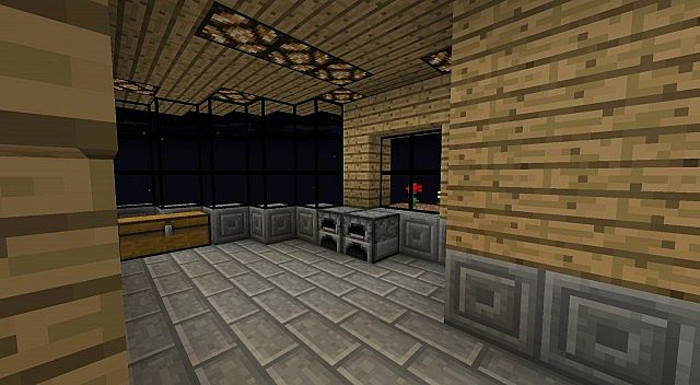 how to make a daylight sensor lamp in minecraft