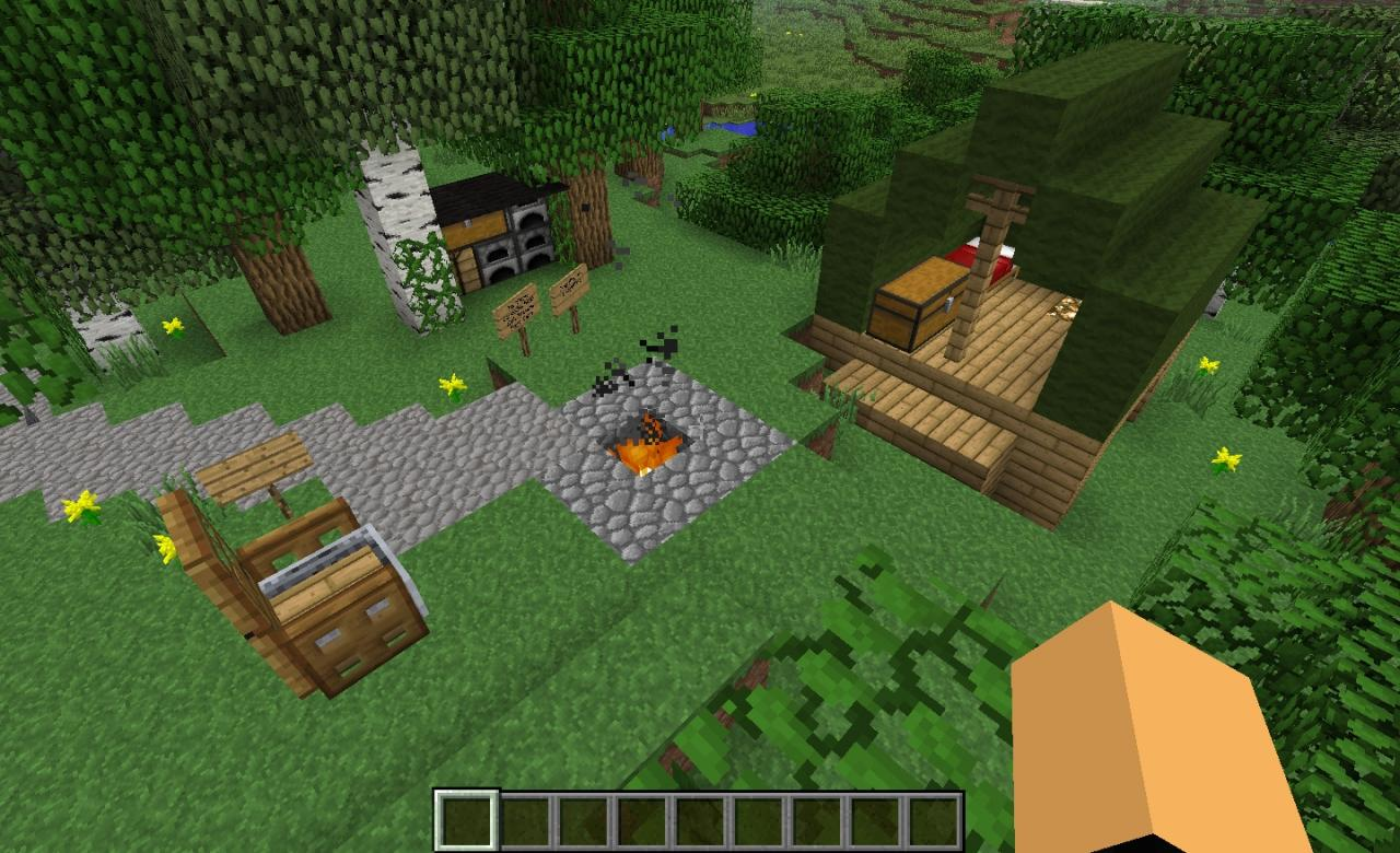 Cooking Campfire Craft The World
