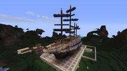 HMS Shipyards Portar Minecraft Map & Project