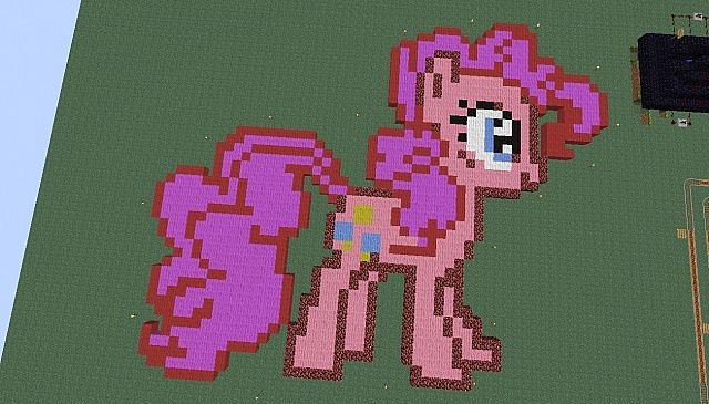 Pinkie Pie! Credits to thedoor99 for AMAZING artwork...
