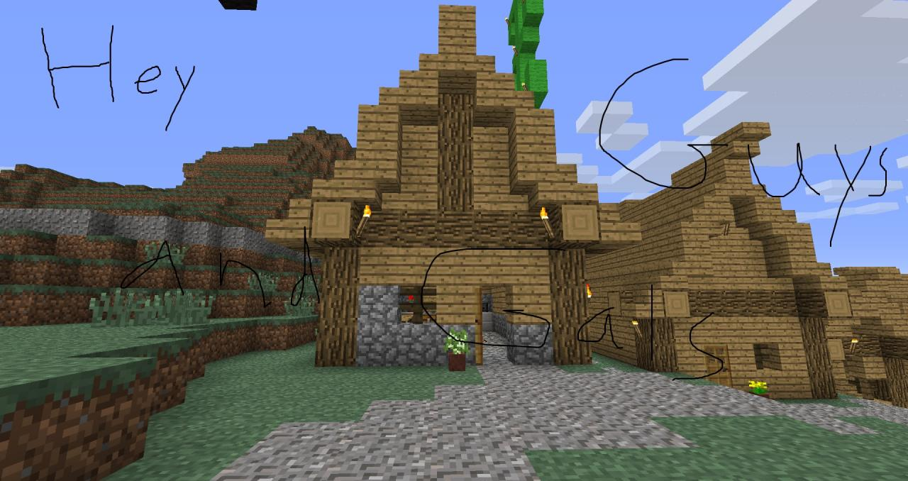 how to build a basic house in minecraft