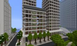 Financial Center Minecraft Map & Project