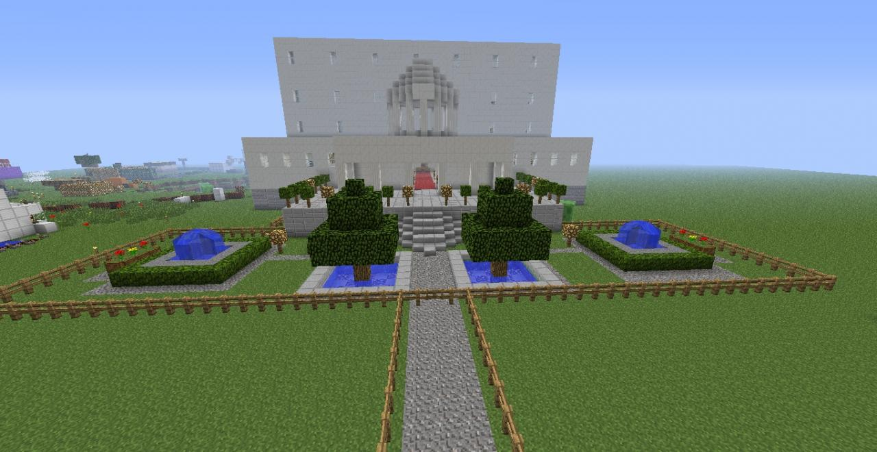 Minecraft Palace Minecraft Project
