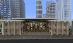 Waterfront Museum Minecraft Map & Project