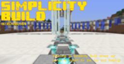 Simplicity Build |FriendlyStaff| |24/7| |30Slots| |Bukkit| Minecraft Server