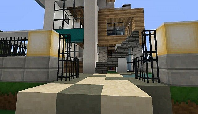 Vera Modern Home By Lord Minecraft Minecraft Project