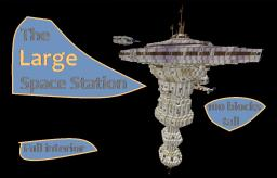 Large Space Station Minecraft Map & Project