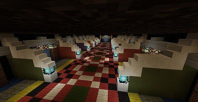The new game room design via 1.6.2