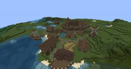 Medieval Village of Mangtral Minecraft Map & Project