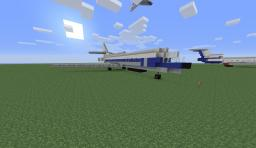 Sud Aviation Caravelle Minecraft Map & Project