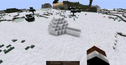 Simple igloo Minecraft Project