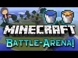 Battle Arena Minigame *UPDATED* ( 4 NEW Biomes, 16 different spawns, and more! ) Minecraft Project