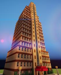 The Lexington Hotel - Random Skyscraper Minecraft Map & Project