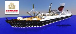 RMS Carpathia, ocean liner 1:1, Download Minecraft Project