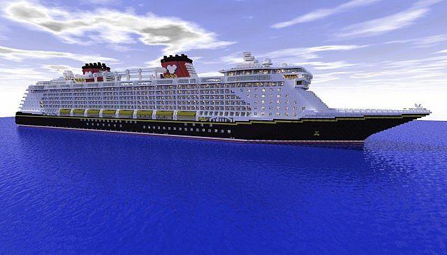 Disney Dream OLD 1:1 Scale Cruise Ship [Full Interior ...
