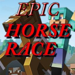 EPIC Horse Race! Minecraft Map & Project