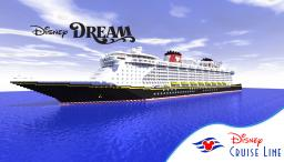 Disney Dream OLD 1:1 Scale Cruise Ship [Full Interior] [+Download] Minecraft