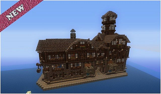 Meval Houses Bundle - with schematics! Minecraft Project on