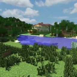 Italian Modern Villa Minecraft Map & Project