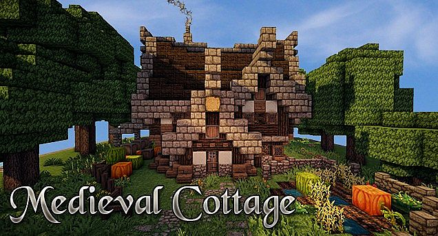 Medieval Cottage Speed Build Minecraft Project