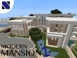 Modern Mansion  1     -Stagnum City Minecraft Map & Project