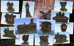 Medieval Houses Bundle - with schematics!
