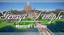 Gensys' Temple | Minecraft building. Minecraft
