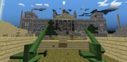 Fall Of The Reichstag 1945 (Flan's WW2 Mod) Minecraft Map & Project