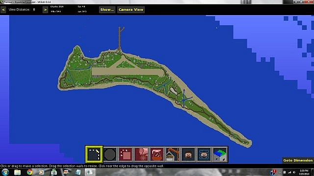 Tarawas Bloodshed WW2 Challenge map Minecraft Project
