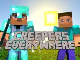 """Creepers Everywhere"" an Animated Music Video of Cold Play's Paradise Minecraft Map & Project"