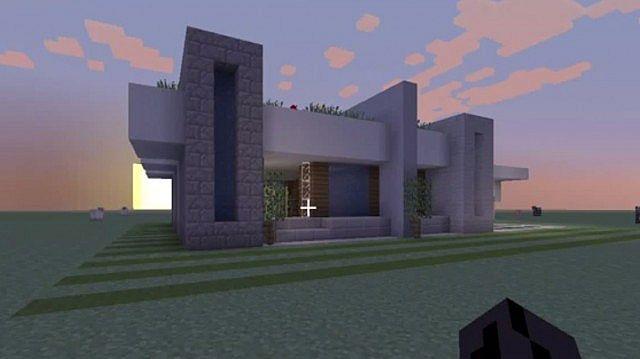 minecraft minimalist modern house xbox 360 minecraft