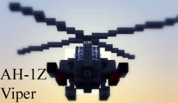 AH-1Z Viper Minecraft Map & Project