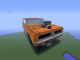 General Lee Charger on xbox 360 minecraft Minecraft Map & Project