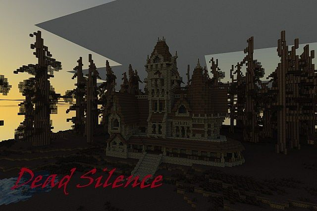 Dead Silence Minecraft Horror Map Paused Minecraft Project - Horror maps fur minecraft
