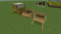 Yet another update idea for minecraft ~ horse drawn carts! Minecraft Blog