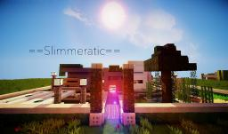 ='Slimmeratic'= Modern House Minecraft Map & Project
