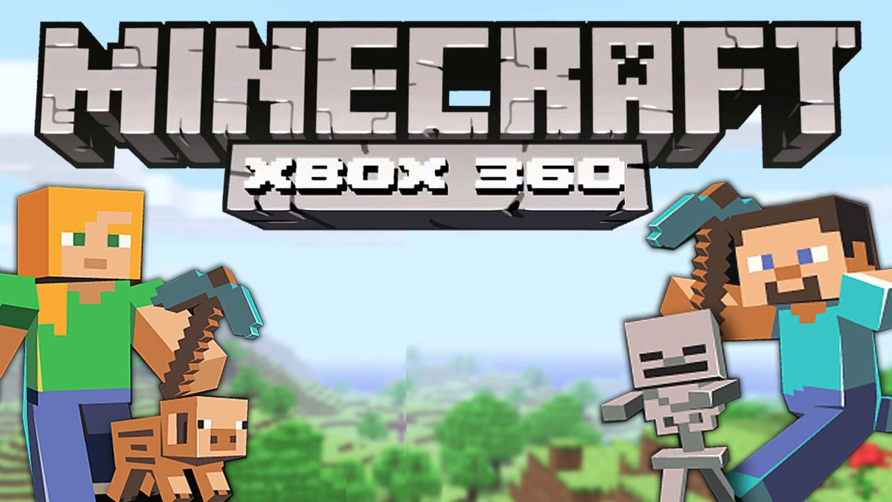 can 2 players play minecraft on xbox 360