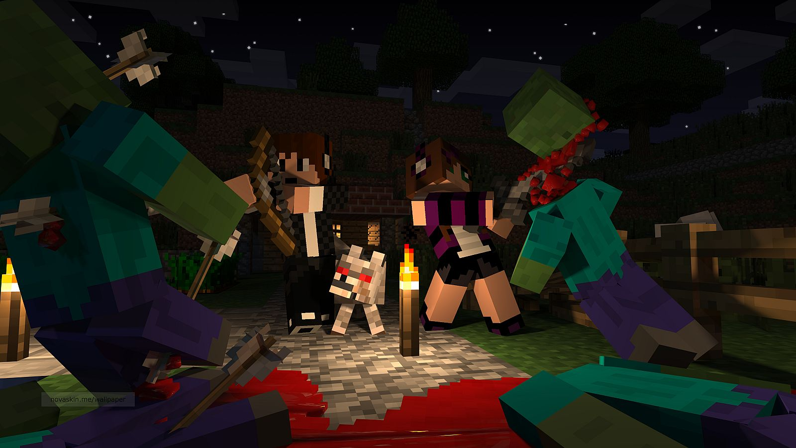 revenge on the villagers minecraft project