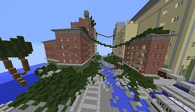 The Last of Us Map Minecraft Project