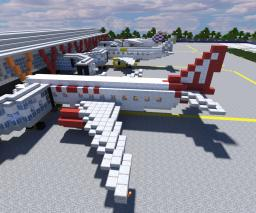 Piera Airport (invented) Minecraft Map & Project