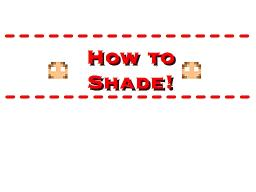 How to shade your skin (Part 1: The face)