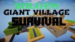 Zolge's Giant Village Survival! Minecraft Map & Project