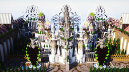 Oasis, A Minecraft work of Art Minecraft Map & Project