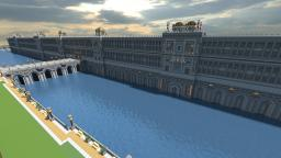 Planet Merdria: Capital City - The Great Walls Minecraft Map & Project
