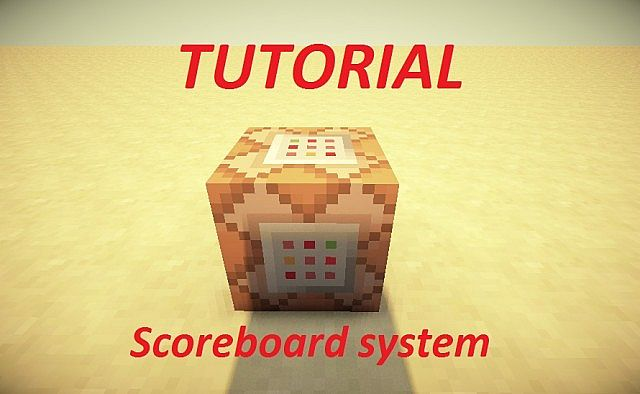 Tutorial Scoreboard System Minecraft Project